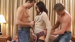 Alexa May Gets Banged In The Ass By Two Different Dudes