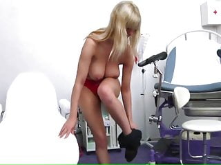 Pussy frum a woman Perfect tits examination by a woman doctor