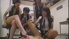Japanese Police Women Strap On Fuck Criminal