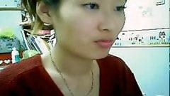 Wet Korean CamGirl Cum&Pee  (Amazing Chinese Girl On Webcam)