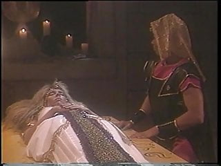Black dick fucking blonde slut A blonde slut dressed up like an egyptian queen sucks a dick and fucks