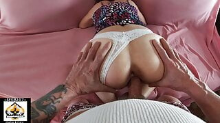Sexy Step Mom Big Cock Doggystyle Creampie