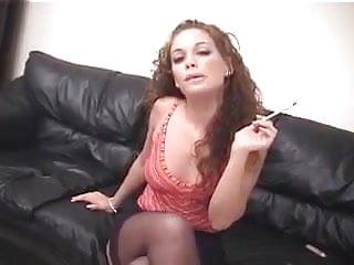 Young redhead smoking thumbs - Hot redhead smoking and fucking