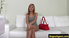 Flexible euro amateur casted with doggystyle