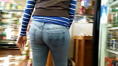 Tight Jeans Beauty
