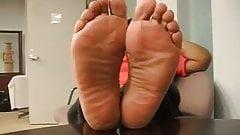 Mature ebony feet got me speechless