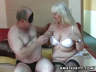 Wife fucks sucks mature Chubby amateur wife sucks and fucks on her bed