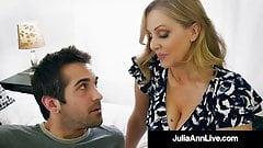 Mommy? Is that you? Hot Milf Julia Ann Face Fucks Step Son!