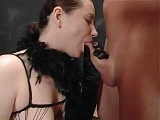 Extreme cumshots - Extreme gangbang with german chick 4