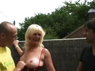 Francesca goldenangel18 nude Francesca, mature blonde double penetration