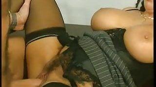 big boob Tiziana Redford get fucked  in office