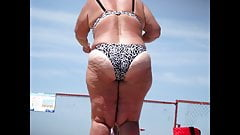 Perfect Curvy Woman on the beach (Must see!)