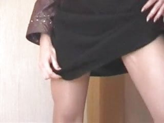 Teens without underwear - Homemade stockings without underwear, the breaks vote pls