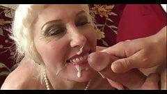 Beautiful mature Lady Dalny Marga fucs her ass hard