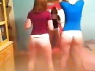 White owl nude - 2 white girls trying to twerk no nude