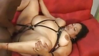 BBW with Chained Guy Free Amateur