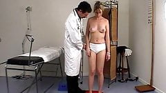 CMNF - Girl spanked in all positions