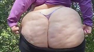 Big PAWG Teasing Big black Cock. Milf Ass. Wow
