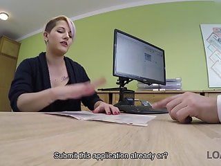 Slut licking out her own cunt - Loan4k. lussy sells her cunt to open her own food delivery..