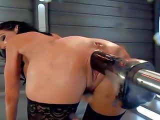 Cunt machine Machine fucks a hot milf hard, multiple squirting orgasms.hd