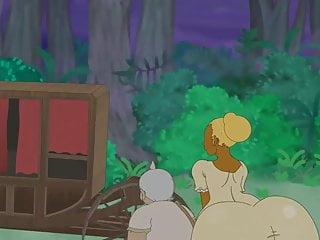 Jojos bizarre adventure hentai Rune adventure - sleeping at ikkis home - p2 scene