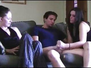 Watch boyfriend masturbate video - Girl watches friend jerk off her boyfriend