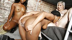 Jenna Ivory, Chanell Heart and Monique Symone