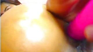 Latina Webcam: Close-up Anal & Pussy Play