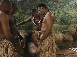 Gay boys in the jungle - Gangbang in the jungle