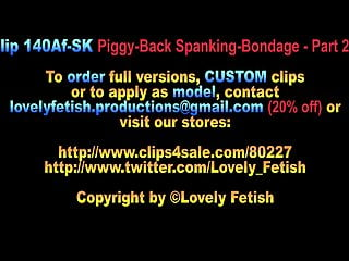 Vintage parts for sale Clip 140af-sk piggy-back spanking - part 2 - 09:19, sale: 9