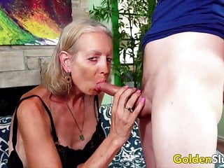 Mature older big titted ladies nude Golden slut - older lady blowjob compilation part 3
