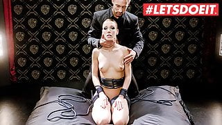 LETSDOEIT – Alexis Crystal Tied Up And Hardcore Drilled By BF