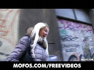 California exotic platinum vibrator - Platinum blonde czech girl is picked up in the street