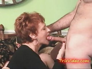 Granny swinger Cum sucking slutty granny