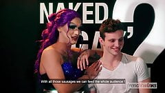 Naked GayTraction TV Porn Parody with Robin