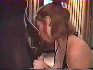 Busty older women porn tube - Younger couple invite older black bull to mount wife