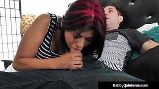 MexiMilf Gabby Quinteros Fucks Her Step Son's Cock!