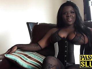 Ebony girls getting fucked Ebony girl with big tits gets fucked