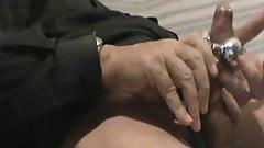 handjob + toy + orgasm
