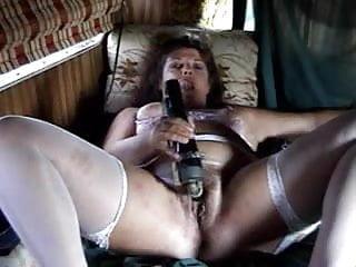 Odd porn Mature uses odd toys