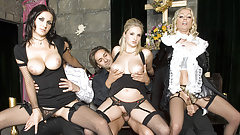 Mourning Their Loved One with an Orgy
