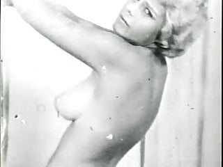 Big tits striptease movies Bondage fetish stage film 1960s movie clip