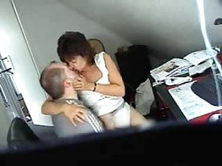 Home hidden cam porn - Mum and dad home alones caught having fun by hidden cam