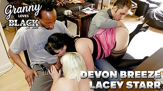 GRANNYLOVESBLACK - A Wife Shared at Dinner