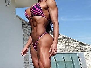 One strong bikini Gracy crazy strong hot body