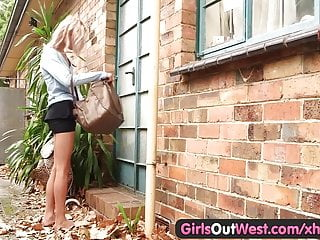 Free cartoon sex video blondie - Skinny amateur blondie outdoor toying