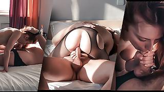 Wife Fucks Lover in the Hotel