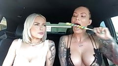 Hot Two Girls Sucks Candy