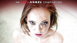 Blowbanged Bukkake Cum Sluts Compilation - EvilAngel