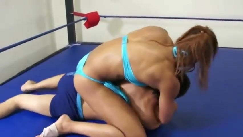 Mixed Wrestling Sex Oil